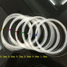 DIY handmade beads material, wire fittings, beaded fish thread, braided line, crystal line, transparent elastic fishing line.