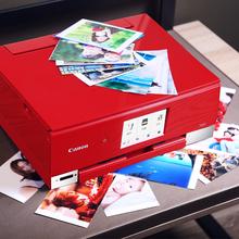 佳能TS8280照片打印机六色家用办公多功能复印学生一体机小型手机wifi无线喷墨家庭相片a4纸扫描件彩色替8180