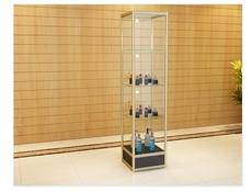包邮钛合金展柜 玻璃展柜方柜 工艺品礼品中岛柜柜台 精品货架
