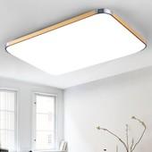 客厅卧室温馨餐厅书房灯饰长方形灯具家装 led吸顶灯大气现代简约