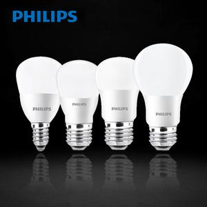 飞利浦LED灯泡e14e27超亮照明大小螺口暖白光节能灯家用球泡LED灯