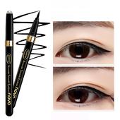 韩国眼线液笔防水持久不晕染黑色速干大眼部彩妆正品 初学者眼线笔