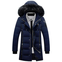 Winter Down Jackets Men Warm Parkas Casual Overcoat Down Dress for Male