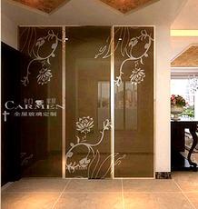 贴柜面墙面艺术彩色烤漆玻璃-家具玻璃-现代简欧玻璃-厂家定制