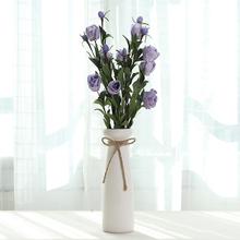 饰品客厅插花桌面摆件 干花简约现代家居陶瓷花瓶创意小清新仿真装