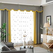轻奢北欧窗帘成品客厅落地窗帘简约现代遮光卧室窗帘2018新款凯伦