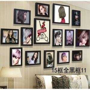 时尚装饰品复古挂墙海报墙壁个性美发 span class=h>店 /span> span图片