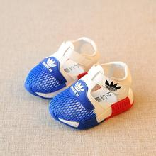 Summer baby net shoes breathable 0-1 year old and half girl shoes 2 boy sandals 3 spring 4 children's shoes summer