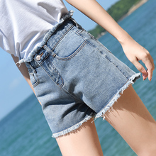 High waist and slim jeans shorts for summer 2019