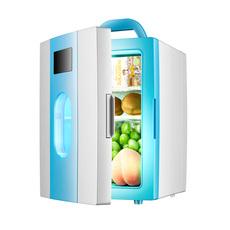 迷你10L车载冰箱车家两用冷藏箱 12v冷暖箱宿舍寝室小冰箱4l
