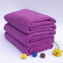 超细纤维游泳大浴巾吸水美容院裹擦身体沐浴巾美容床上用 大毛巾