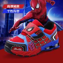 New Spring Spider-Man Boys'Shoes, Mesh Shoes, Children's Mesh Air-permeable Sports Shoes, Boys' Shoes