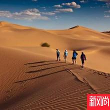 山脉旅行 库布其沙漠西线徒步4日穿越