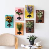 立体仿真花艺壁挂绿植物墙上装饰品家居客厅卧室墙面装饰挂件壁饰