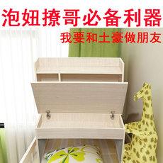 大学生床上电脑桌书桌悬空桌折叠桌简约上下铺带锁可折叠台式机用
