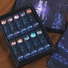 星空糖果创意手工棒棒糖礼盒装 喜糖定制太空七夕情人节礼物