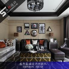 室内设计套房装修设计别墅装潢设计师现代简约美式欧式北欧田园