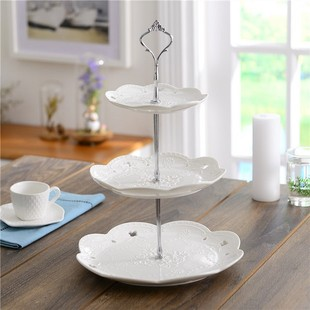Wedding Decoration Ceramic Cake Tower Cake Stand Decor HH124