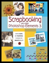 【预售】Scrapbooking with Adobe Photoshop Elements 3