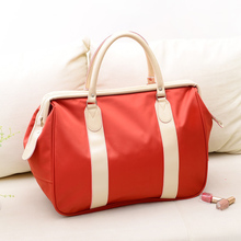 Travelling bag, female handbag, large capacity baggage bag, short distance female travel bag, business boarding bag, Korean version of tide bag.