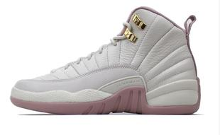 腾云体育 Air Jordan 12 Retro Heiress AJ12樱花粉 845028-025