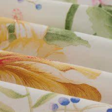 梦洁家纺出品 纯棉四件套全棉套件系列清新花卉亲肤透气 活色生香