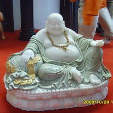 石雕佛像 汉白玉弥勒佛 释迦牟尼佛 药师佛石雕工艺品