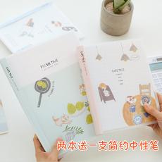 得力B5活页本 创意简约学生A5可替芯笔记本记事本日记本办公文具