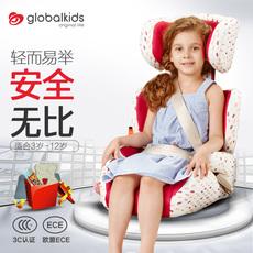 环球娃娃1020 安全座椅3-12岁宝宝用 汽车简易便携式儿童座椅通用