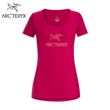 【18春夏新品】Arcteryx 始祖鸟女款休闲棉质短袖T恤  Arc'Word