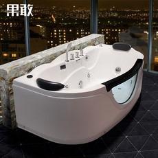 按摩浴缸双人恒温加厚亚克力浴缸盆1.4米-1.8米831恒温加热