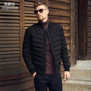 男士保暖棉衣 冬季棉服外套 冬装棒球领衣服男装冬天棉袄韩版潮流