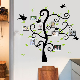 相框贴照片树墙贴纸教室布置贴画宿舍寝室学校班级文化建设装饰品图片