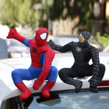 汽车外饰品车顶玩偶装 饰蜘蛛侠车饰品蜘蛛侠公仔外部摆件