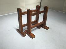 倾听木之歌 桌子配件商业/办公家具桌腿花架框架简易支架实木红木
