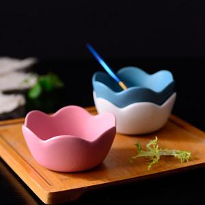 北欧创意磨砂陶瓷盘子 家用餐具小<span class=H>碟</span>子<span class=H>水果</span><span class=H>沙拉</span>碗冰淇淋碗