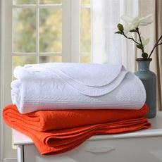 出口全棉空调被春秋被绗缝被 纯棉衍缝被床盖三件套秋冬纯色 夏被