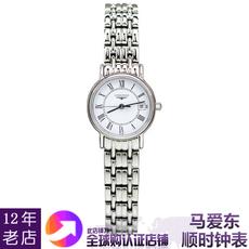 瑞士原产正品浪琴女手表瑰丽系列石英女表L4.319.4.11.6马爱东