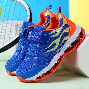 【7根弹簧】男童春季运动鞋中帮网面透气男孩跑步鞋儿童鞋弹簧鞋
