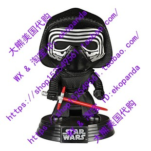 美国正品Star Wars Episode 7 Pop! Kylo Ren 星球大战7 凯洛·伦