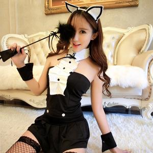 性感衣服情趣内衣透视女仆激情套装护士空姐猫兔女郎角色扮演制服