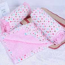 韩式可机洗纯棉床盖水洗绗缝被全棉床单夹棉夏凉空调铺盖衍缝被