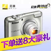 Nikon A10 家用旅游高清卡片机 迷你普通数码 尼康 COOLPIX 照相机