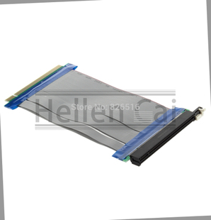 New PCI-Express PCI-E 16X Riser Card Ribbon Extender Extensi