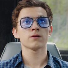 托尼斯塔克眼镜方框钢铁侠眼镜留给蜘蛛侠英雄远征眼镜太阳眼矩