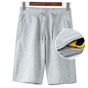 大角鹿五分裤男士 短裤夏季休闲裤子宽松中裤夏季跑步健身运动裤