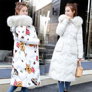 111棉衣女中长款2018冬季新款棉袄加厚chic棉服正反两面穿外套潮