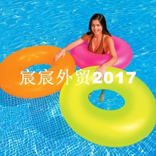 Egoes Neon Frost Tube Inflatable Swimming Pool Float Raft Ri