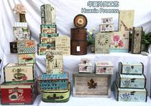 饰品皮革箱收纳箱收纳盒摆件 集合发布 美式乡村风家居软装