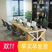 商业办公家具电脑桌职员办公桌房产中介公司员工桌工作位2 6人
